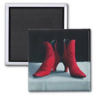 Red Boots 1995 Magnet