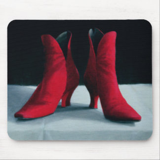 Red Boots 1995 Mouse Pad