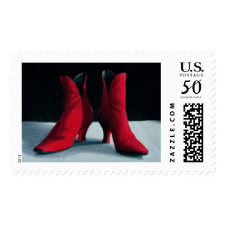 Red Boots 1995 Postage