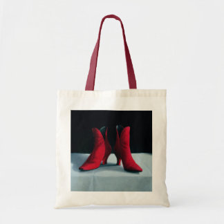 Red Boots 1995 Tote Bag