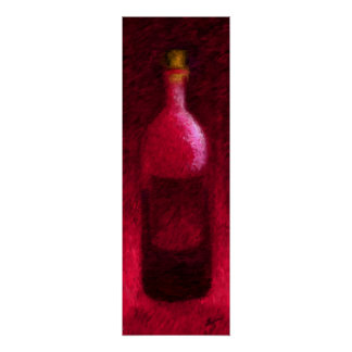 Red Bottle Poster