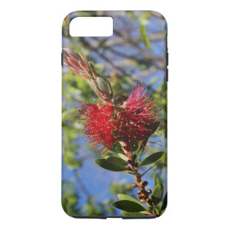Red Bottlebrush Flower Phone Case