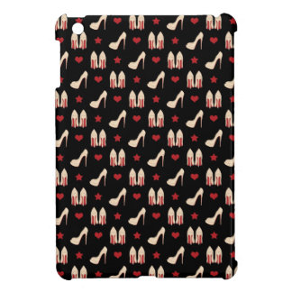 Red Bottoms Stilettos shoes heels stars and hearts Cover For The iPad Mini
