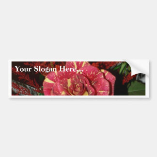 Red Bouquet Bumper Stickers