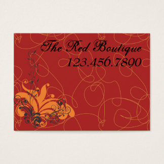 Red Boutique Business Card