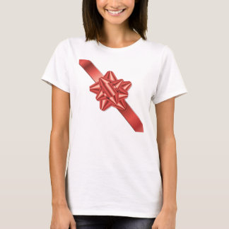 Red bow and ribbon T-Shirt