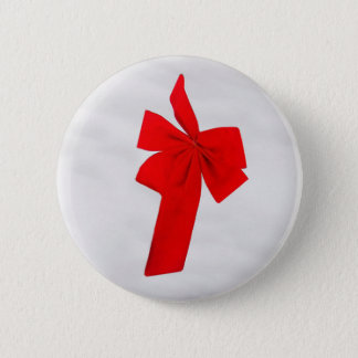 Red Bow Button