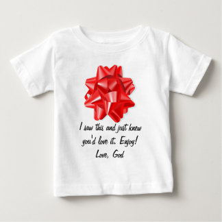 Red Bow- Enjoy! Baby T-Shirt