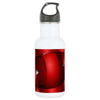 red bow holiday ribbon party shower office water bottle