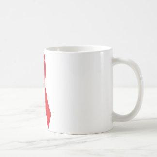 red bow icon coffee mug