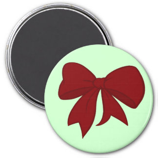Red Bow Magnet
