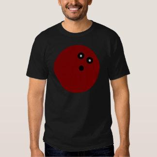 Red Bowling ball T-Shirt