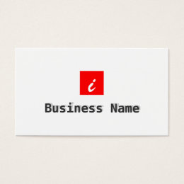 Mobile app development business cards templates zazzle red box apps developer business card reheart Images