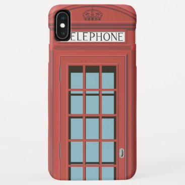 red box iPhone XS max case