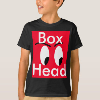 Red Box Head Character Comic Funny CricketDiane T-Shirt