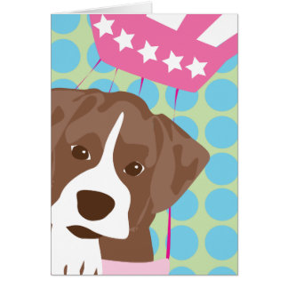 red boxer card