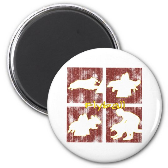 Red Boxes Flyball Magnet