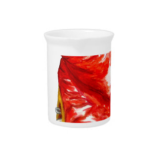 Red Boxing Glove Drink Pitcher