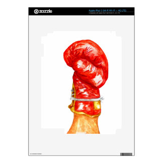 Red Boxing Glove iPad 3 Decals