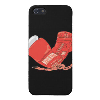 red boxing gloves vector iPhone SE/5/5s cover