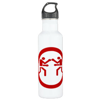 RED BOXING 24OZ WATER BOTTLE