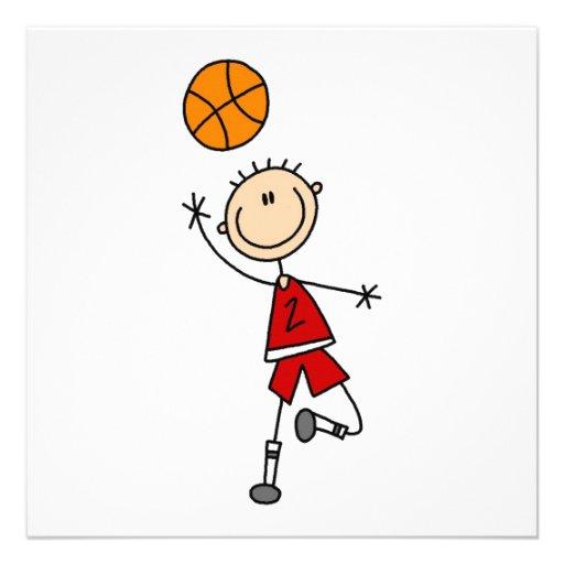 Stick Figure Playing Basketball | www.imgkid.com - The ...