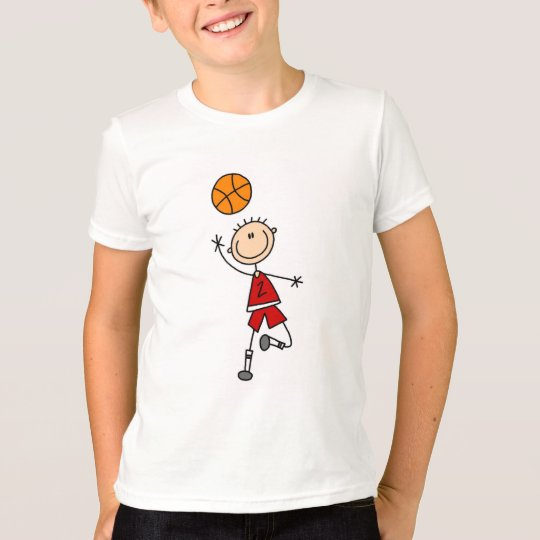Red Boys Basketball T-shirts and Gifts