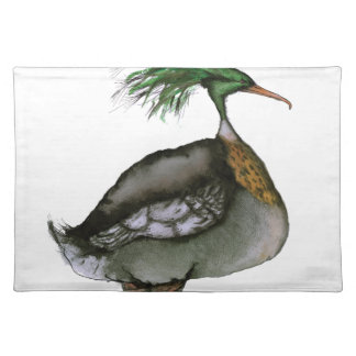 Red Breasted Merganser, tony fernandes Placemat