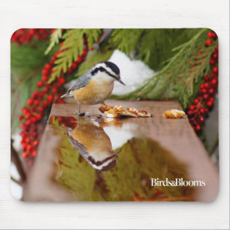 Red-breasted Nuthatch Mouse Pad