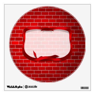 Red Brick Background Room Graphics