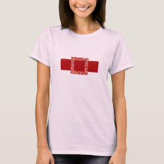 Red Brick Belt Retro T-Shirt
