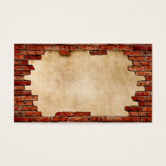 RED BRICK FRAME standard ~.jpg Business Card