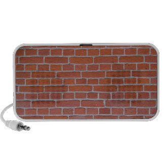 Red Brick Texture Background Portable Speakers