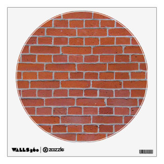 Red Brick Texture Background Room Decals