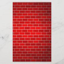 Red Brick w/Spotlight Background