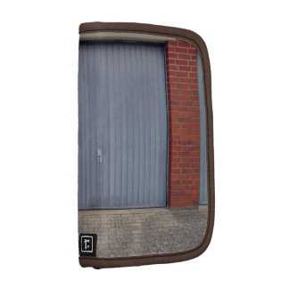 Red Brick Wall and Closed Door Organizers
