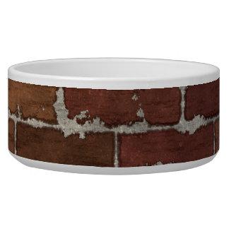 Red Brick Wall Bowl