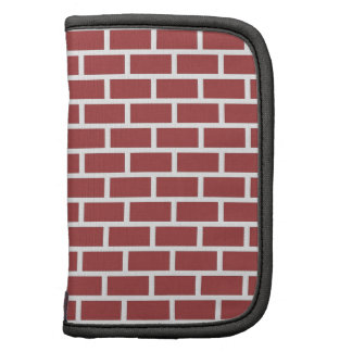 Red brick wall design planner
