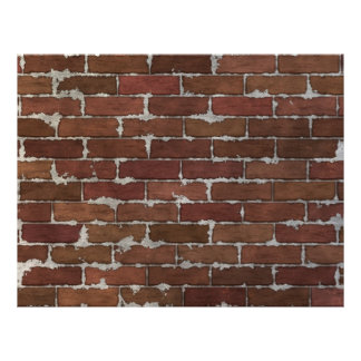 Red Brick Wall Flyer