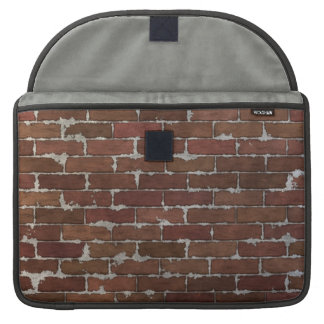 Red Brick Wall Sleeve For MacBook Pro