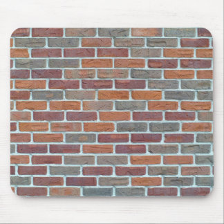Red Brick Wall: Mouse Pad