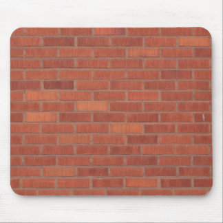 Red brick wall mouse pad