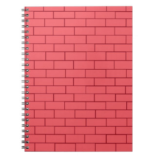 Red Brick Wall Notebook