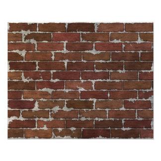 Red Brick Wall Photo Print