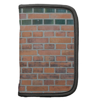 Red brick wall planners