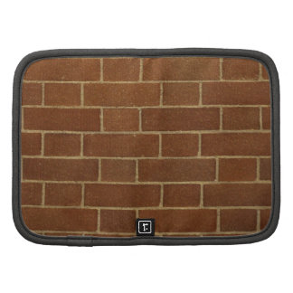 Red brick wall Planner