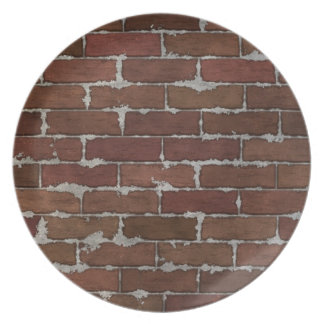 Red Brick Wall Plate