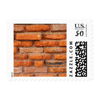 Red Brick Wall Postage