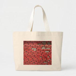 Red Brick Wall - shopping bag