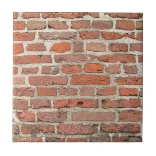 Old Brick Wall Ceramic Tiles Zazzle